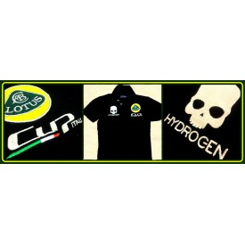 Polo Shirt Hydrogen Lotus