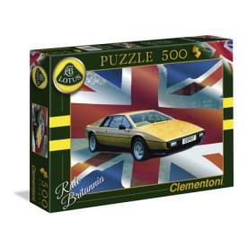 "500 Puzzle Lotus Esprit ""Union Jack"""