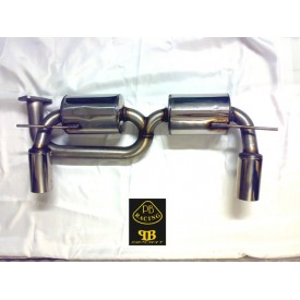 INOX Exhaust SD3 Lotus Elise 111S/S2 Non Bordato